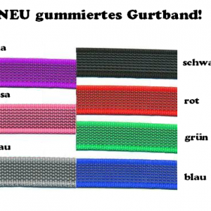 Farbkarte_gummiertes Gurtband