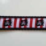 Pirat, Arrr, Rot weiß gestreift